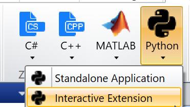 Python Interactive Extension