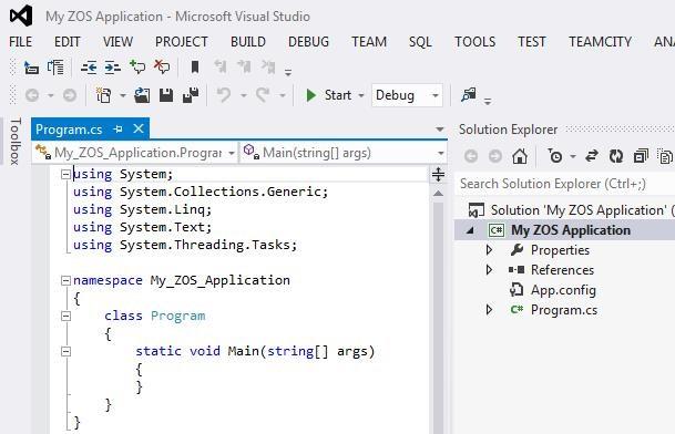 Visual Studio Setup 2