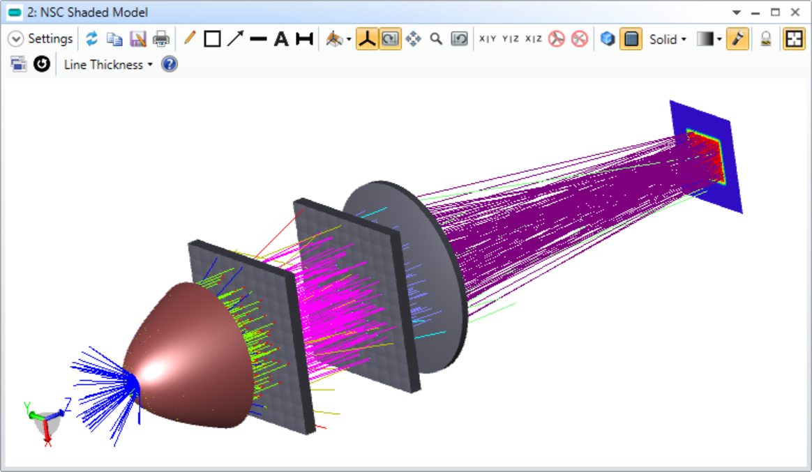 Real_fly's_eye_illumination_system_for_digital_projector_use