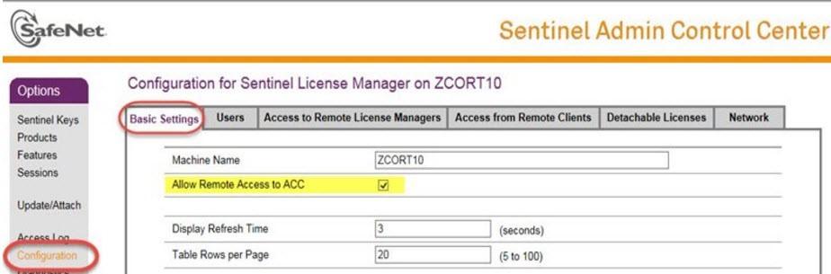 ACC_Configuration